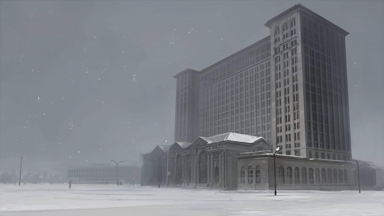 ミシガンセントラル駅