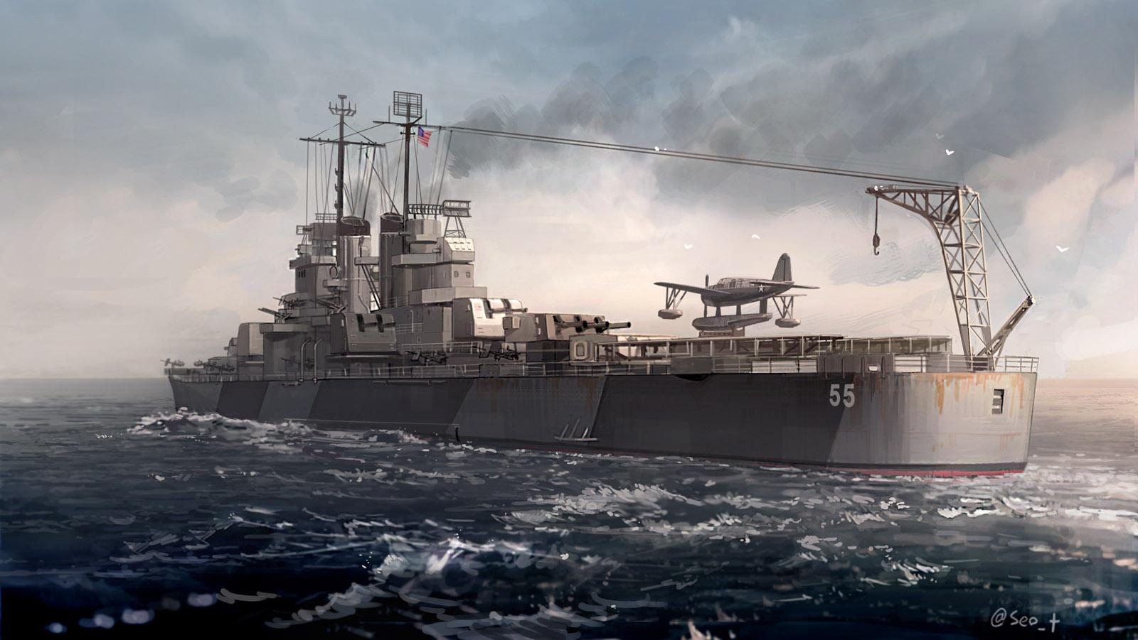 USS Cleveland, CL-55