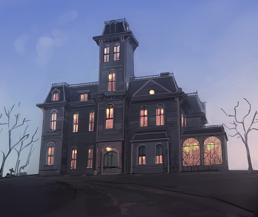 Addams Family's house